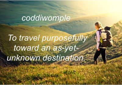 Do you need to do a little coddiwompling?
